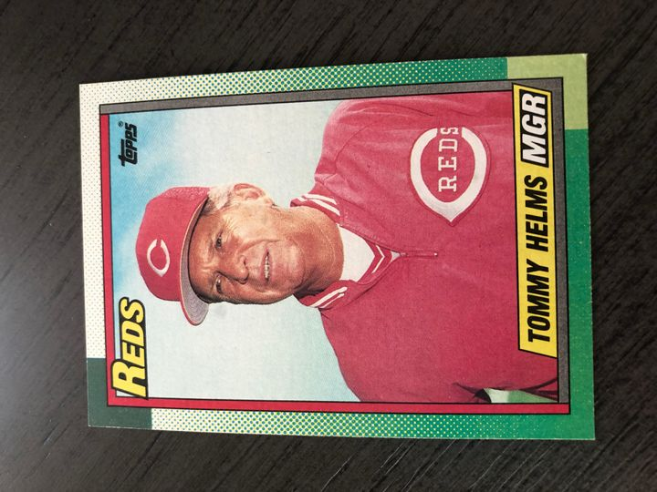 1990 TOPPS TOMMY HELMS 110 Item Image