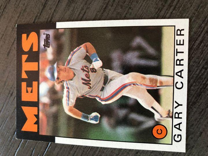 1986 TOPPS GARY CARTER 170 Item Image
